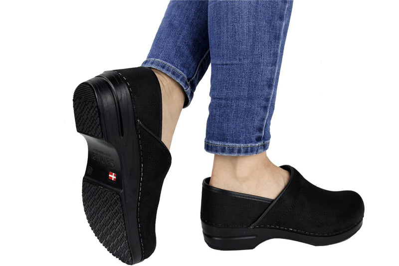 Sanita Albertine Women's Chef Clog -  life style view