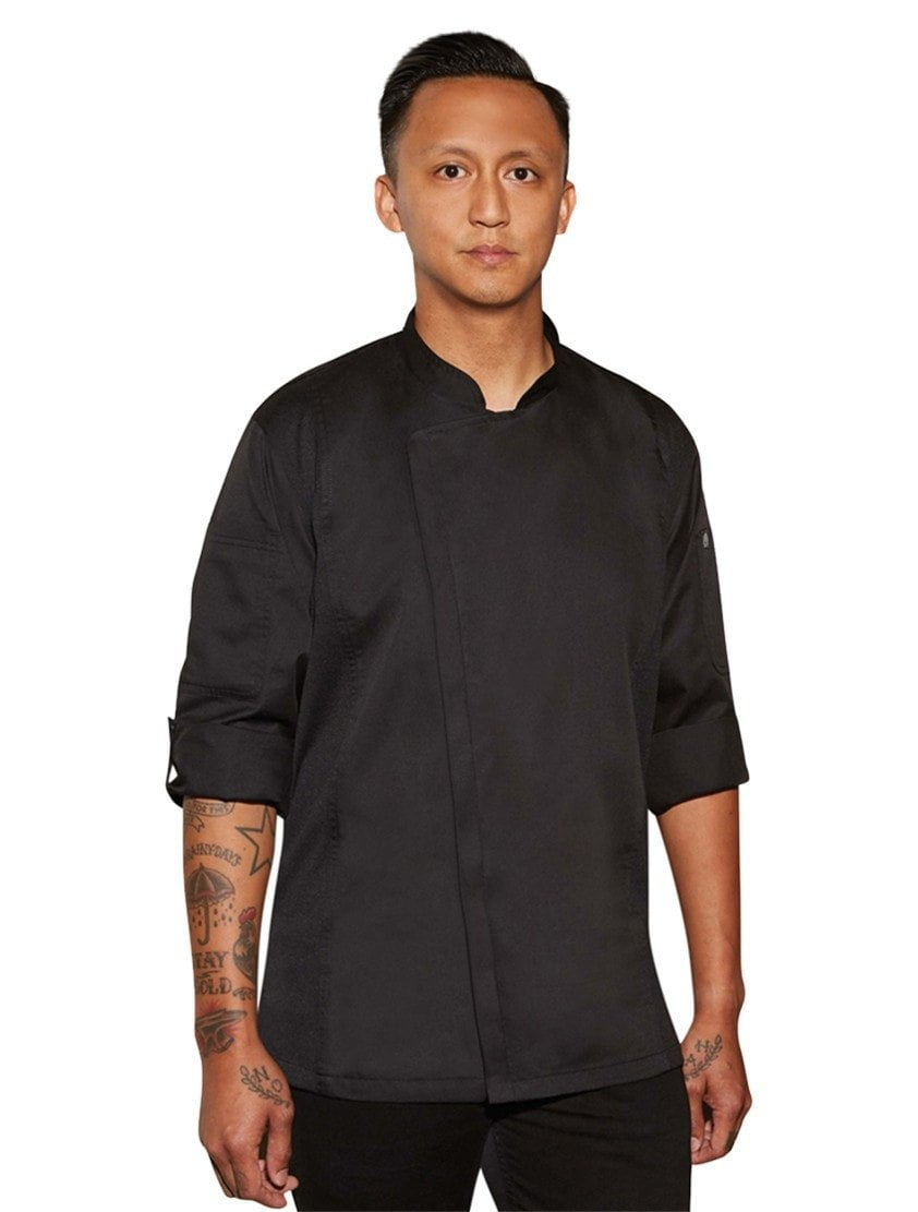 Chef Works Hartford - Manteau de chef noir