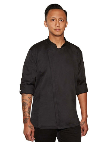 Chef Works Hartford Chef Coat Black