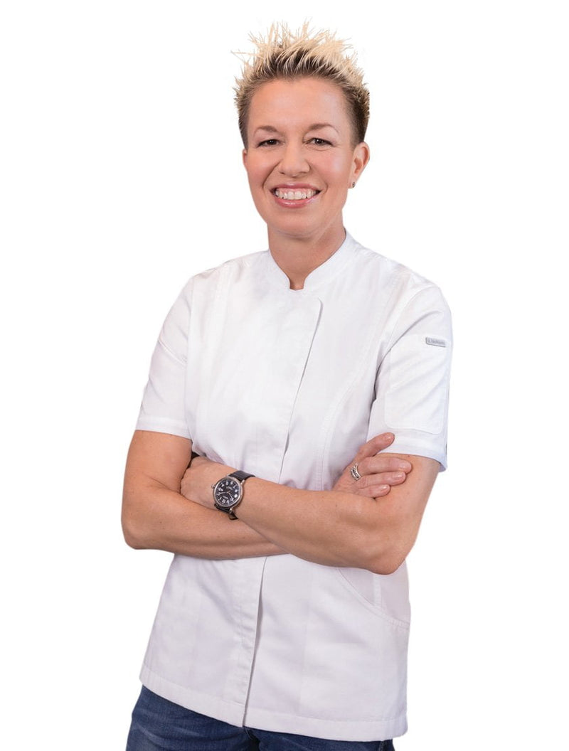 Chef Works Roxby Women's Short Sleeve Chef Coat