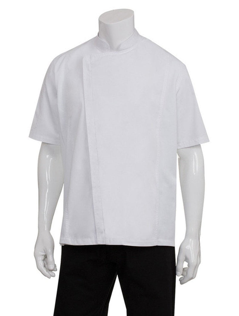 Chef Works Men's Springfield Chef Coat White