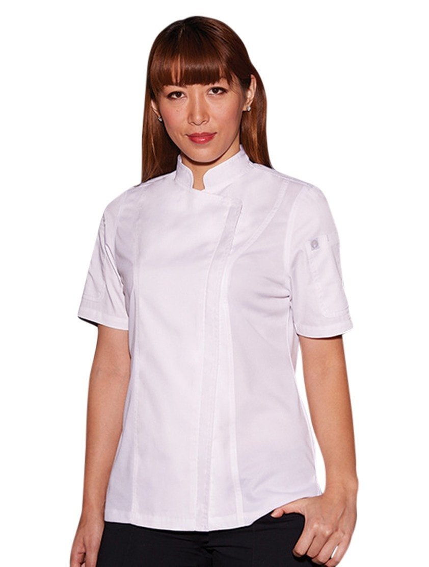 Chef Works Women's Springfield Chef Coat White