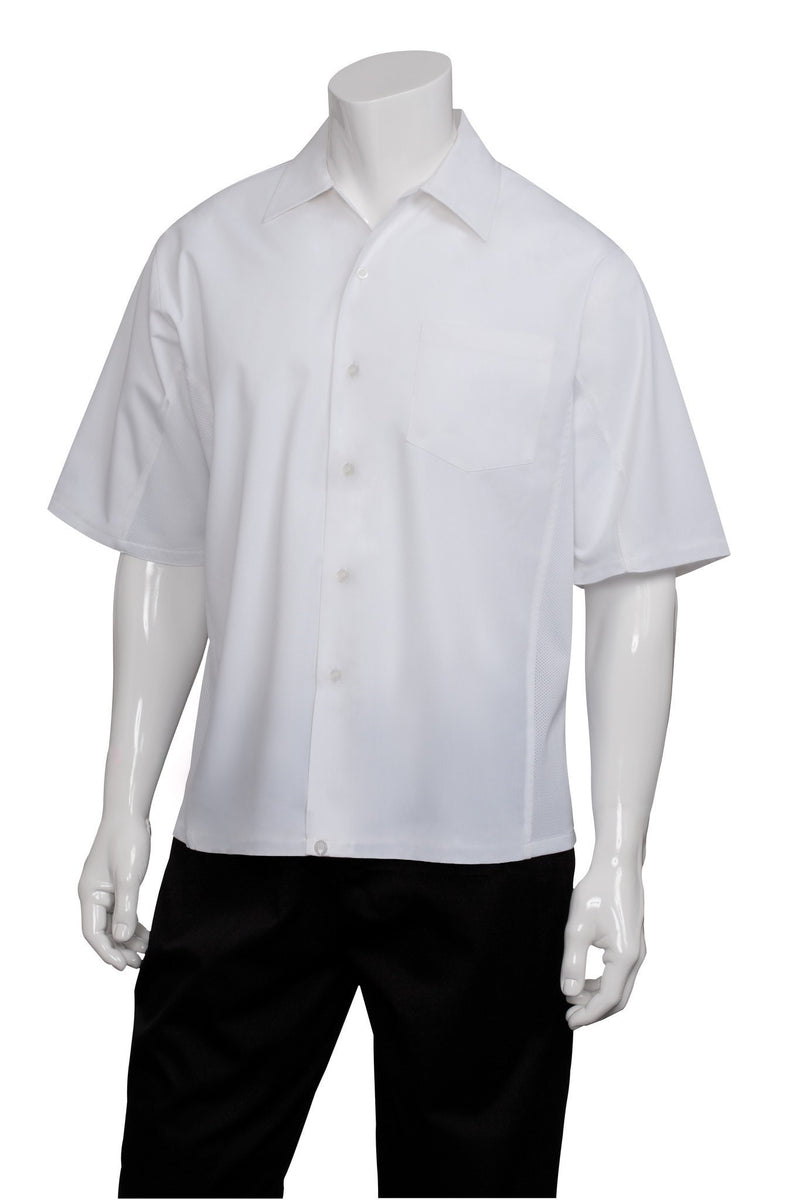 Cool Vent Cook Shirt by Chef Works White Front