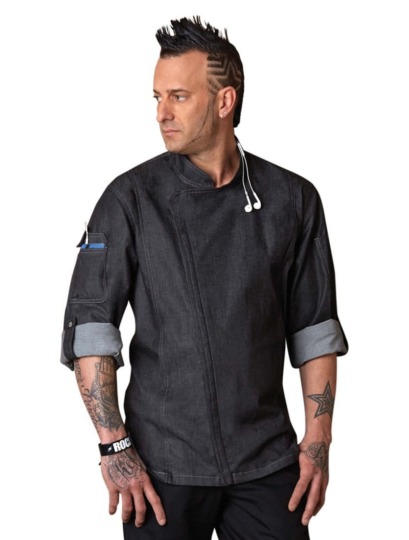 Chef Works Gramercy Manteau Chef Noir