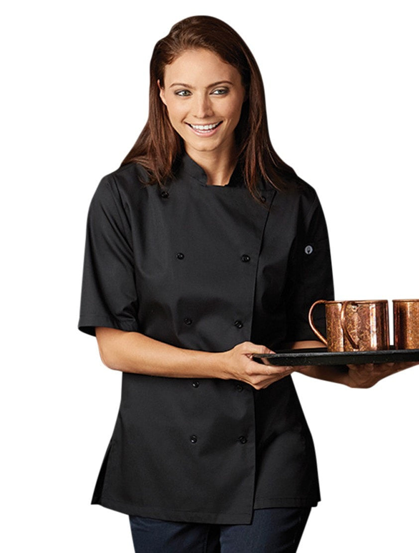 Chef Works Women's Bistro Shirt Black