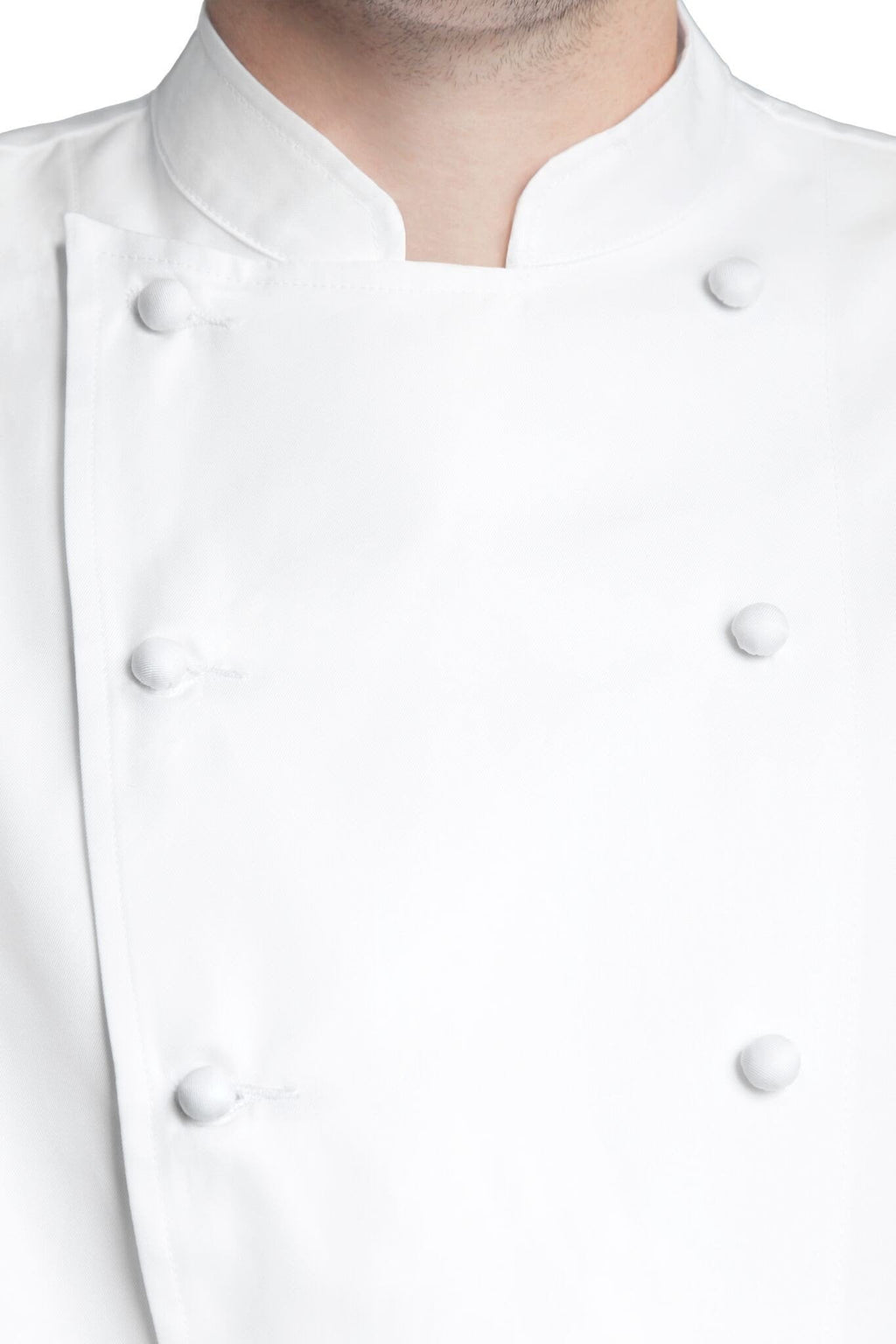 Bragard Grand Chef Short-Sleeve Jacket Buttons