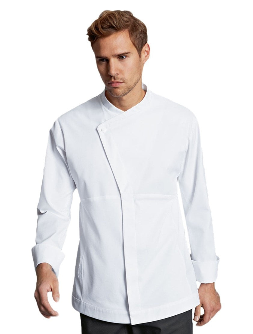 Winner Chef Jacket par Bragard White Front Profile