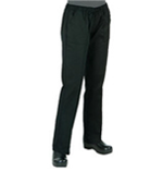 Women's Black Chef Pants by Chef Works