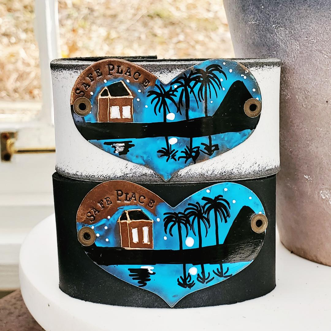 Hawaii cuff (includes Safe Place letter and card)