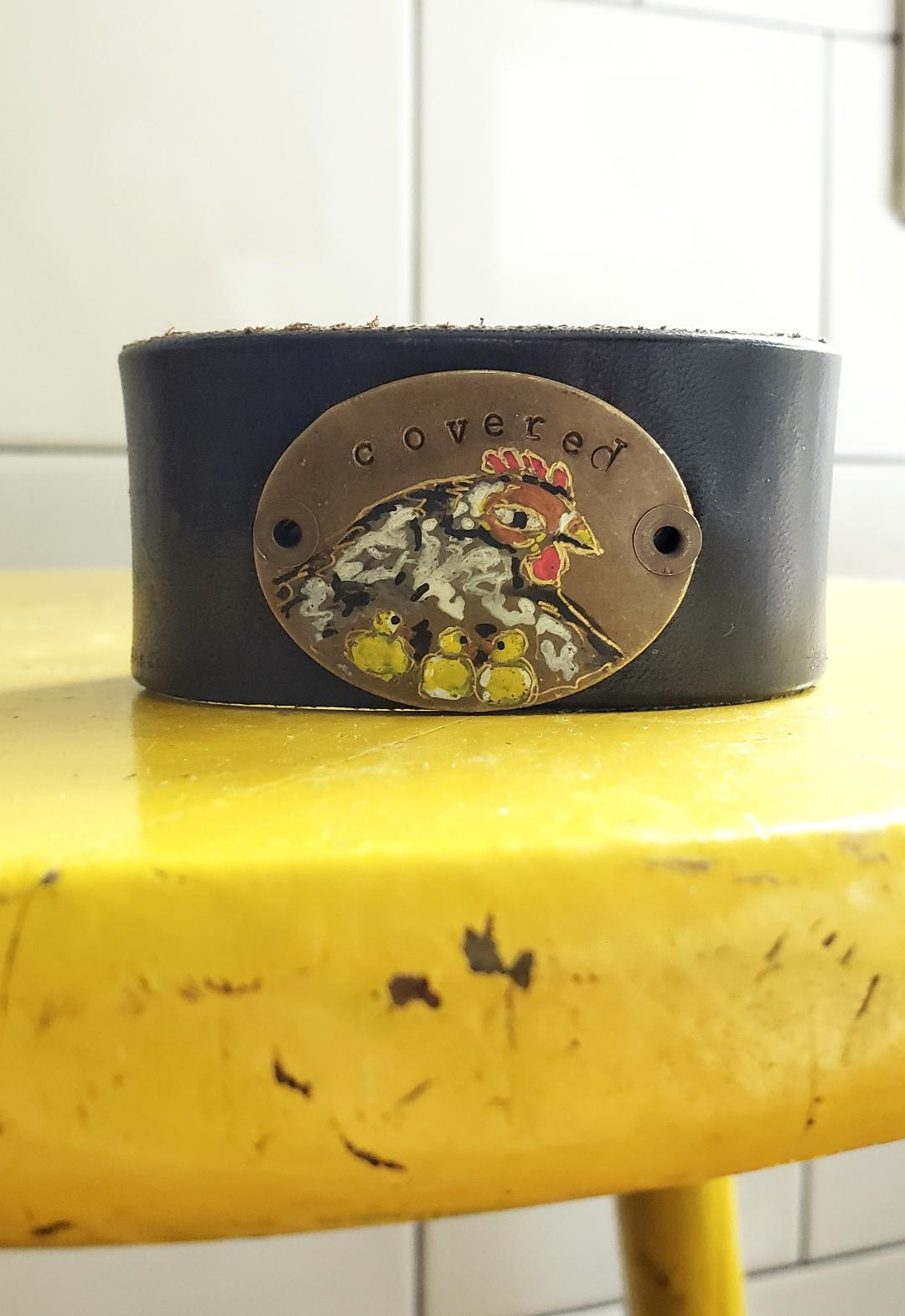 Chicks and Hen cuff (includes Pathway to Parenting letter and card)