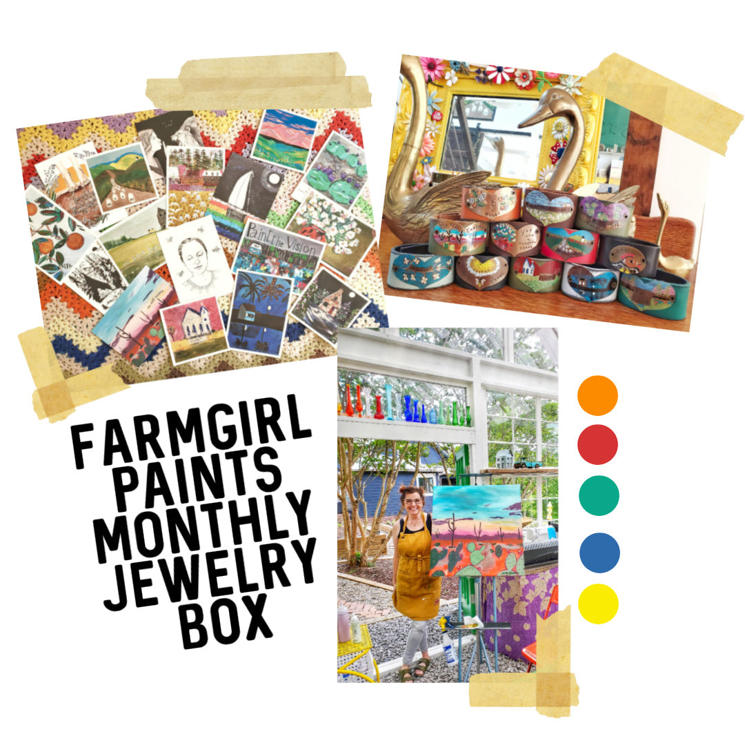 (NON-US CUSTOMERS) Jewelry Box Subscription - MONTHLY