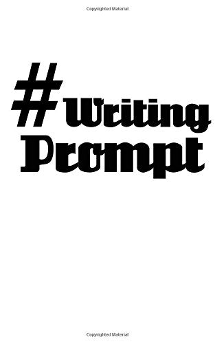 #WritingPrompt: Blank Book Journal ~ 5 x 8 Pocket Size, 80 Gray Lined Pages. Social Media Hashtag Fun!
