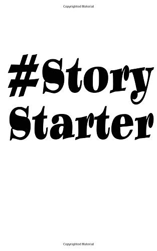 #StoryStarter: Blank Book Journal ~ 5 x 8 Pocket Size, 80 Gray Lined Pages. Social Media Hashtag Fun!