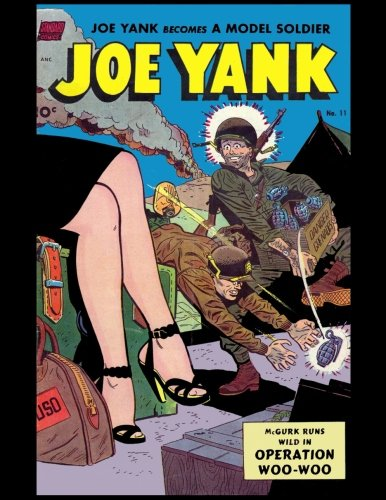 Joe Yank: Vintage Comic Book Cover On A Daily Planner Journal ~ 365 + Days Bullet Journaling Blank Notebook with sections for date, time, notes, lists ... x 11 size, 380 pages + Blank Calendar + Index