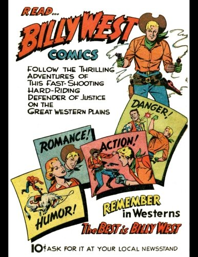 Read Billy West Comics: Vintage Advertisement On A Daily Planner Journal ~ 365 + Days Bullet Journaling Blank Notebook with sections for date, time, ... x 11 size, 380 pages + Blank Calendar + Index