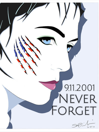 "9/11 Tribute ""Ciara"" Cover Girl Pop Art Journal"