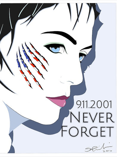 "9/11 Tribute ""Ciara"" Cover Girl Pop Art Planner"