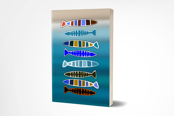 Fishing Themed Journal - 4x6 Pocket Sized, 200 Pages
