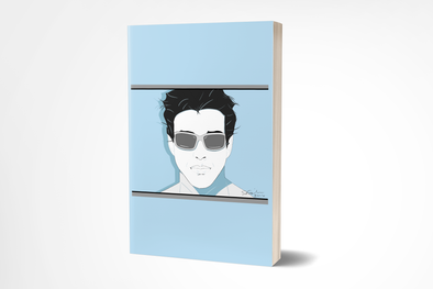 Male Pop Art Style Journal - 200 Lined Pages