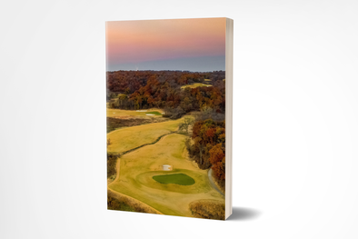 Golf Dreams Planner ~ 200 Numbered Pages, Index & Blank Calendars