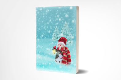 Vintage Christmas Journal ~ 7x10, 200 Styled Pages