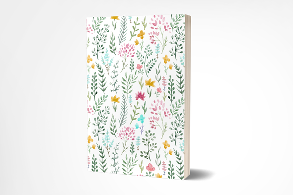 Watercolor Floral Garden Inspired Planner