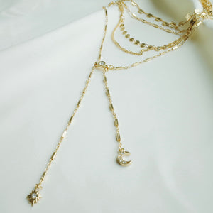 Malibu Breeze Necklace in Gold