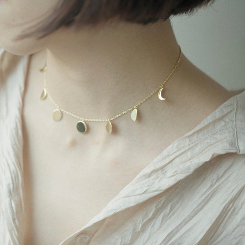 Eclipse Gold Choker