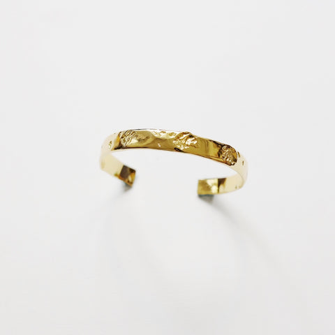 Rose Memory Bangle (Gold)