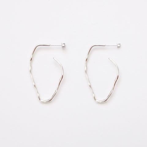 Calm Scent Earring - Silver (925 Silver)