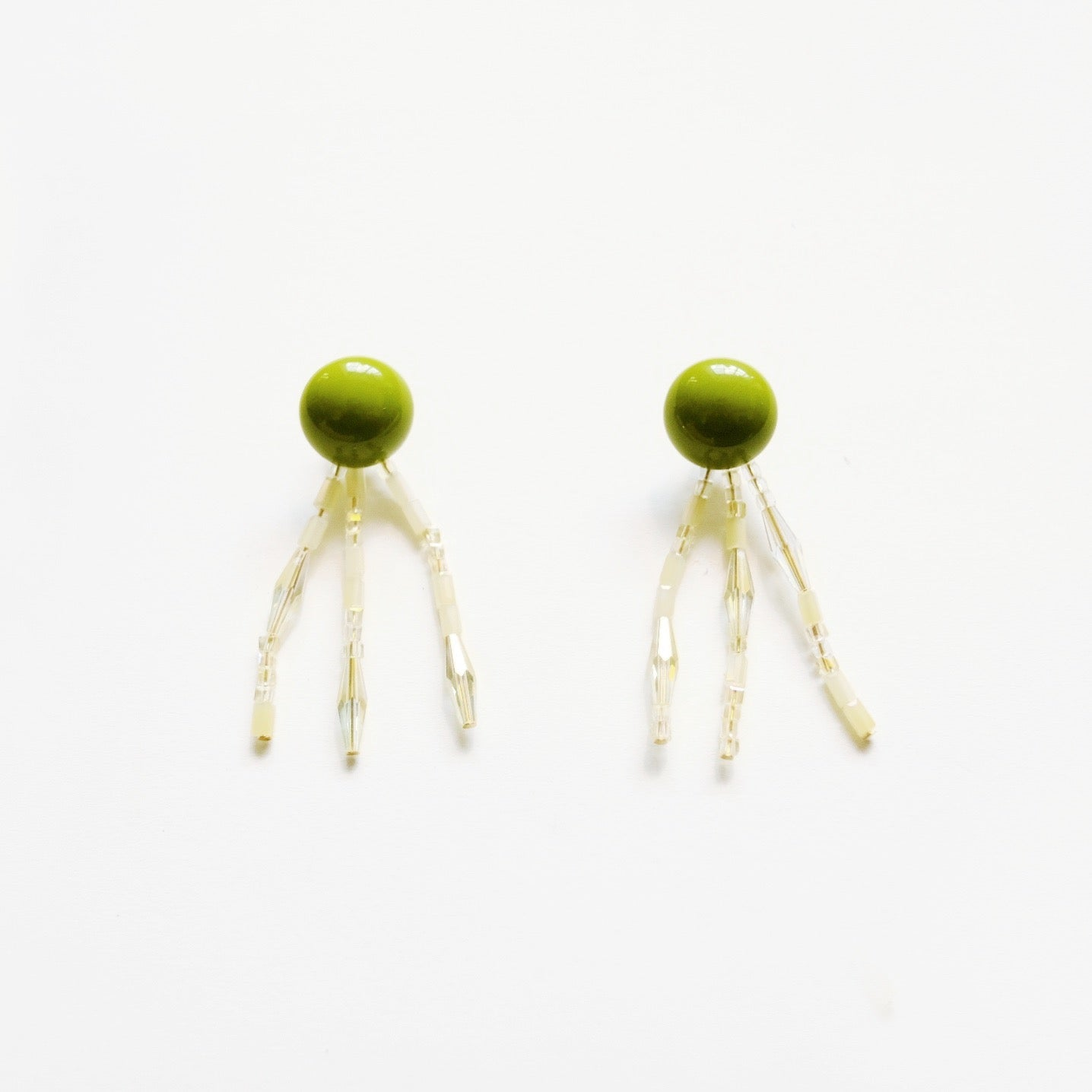 Greeny Sunshine Earring
