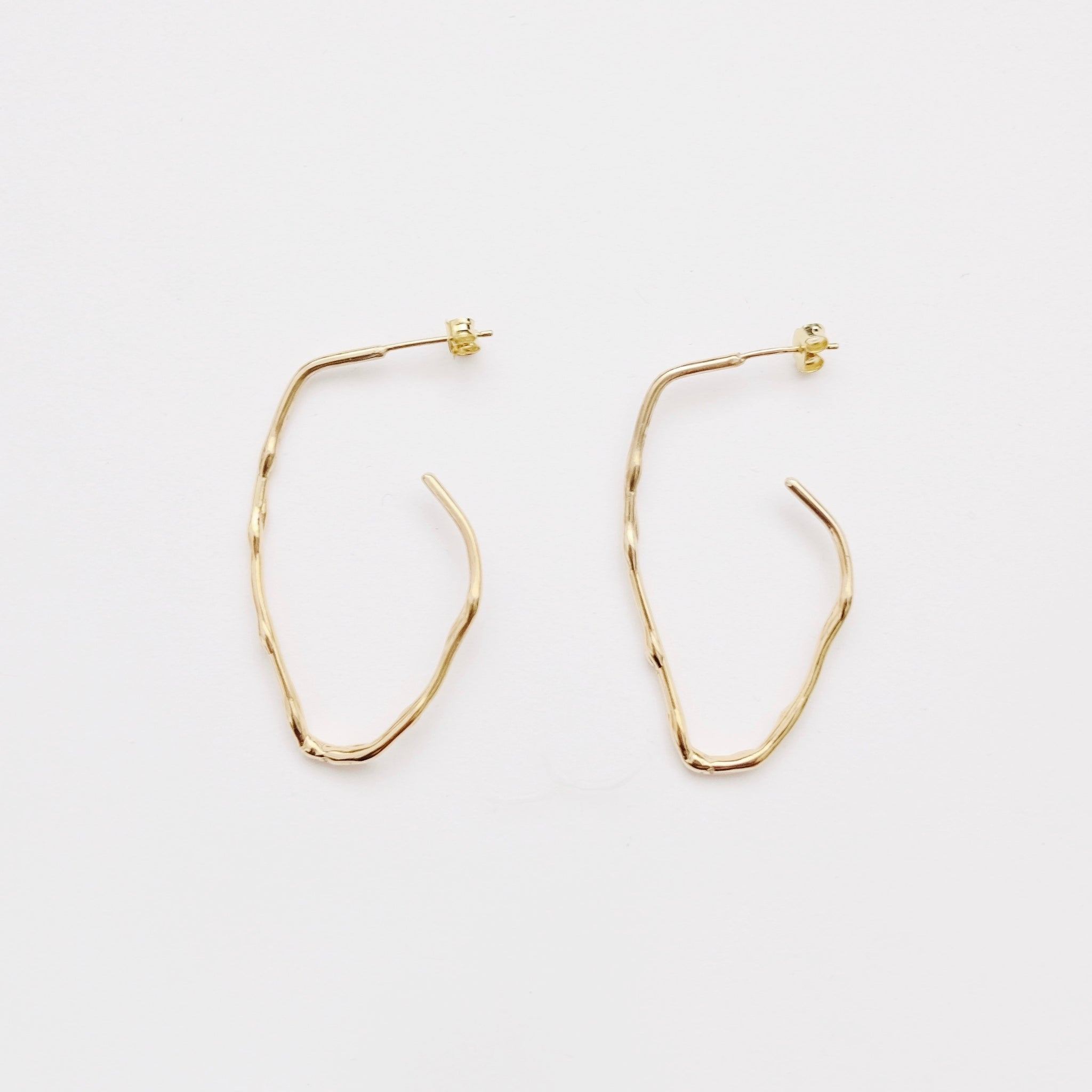 Calm Scent Earring - Gold (925 Silver)