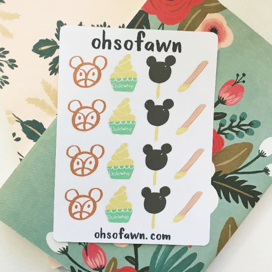 Disney Treat Stickers
