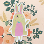 Princess Bunny Die Cut