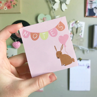 Bunny Sticky Notes