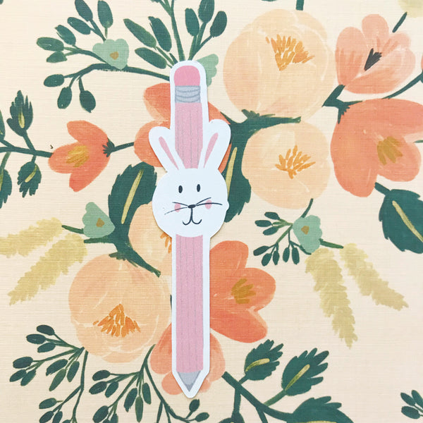 Bunny Pencil Die Cut