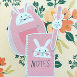 Bunny School Supply Die Cuts