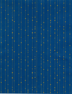 BLUE GOLD DOT STRIPE (NEW)