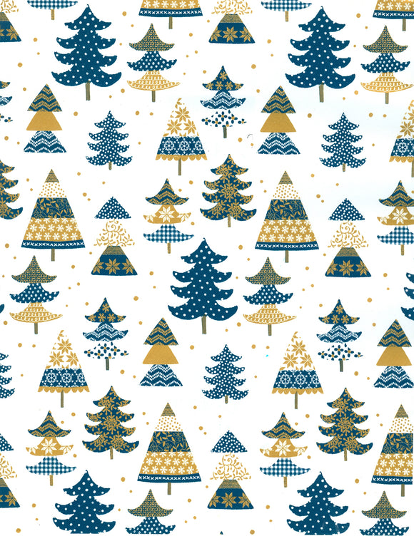 BLUE/GOLD TREES (NEW)