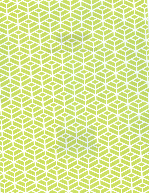 GREEN GEOMETRIC (NEW)