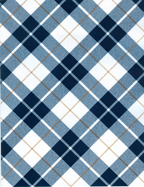 BLUE PLAID (NEW)