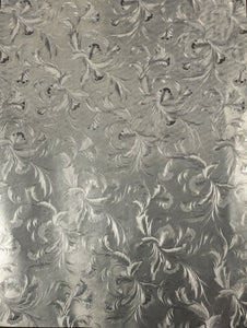 SILVER EMBOSSED FOIL