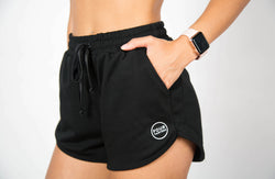Comfort Fit Shorts - Black