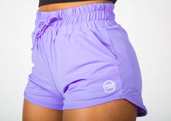 Acceleration Performance Shorts - Lavender