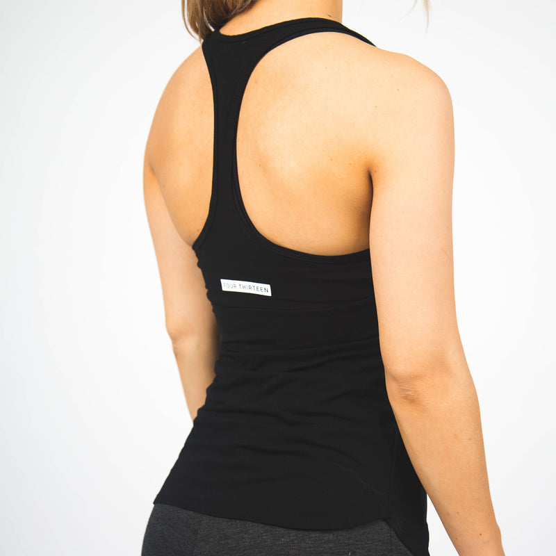 Performance Tech Racerback - Black