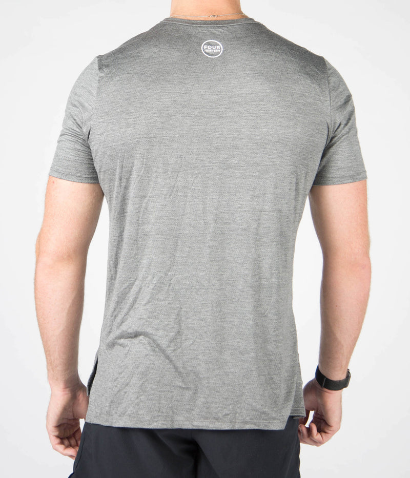 Flow Fit Tee - Grey