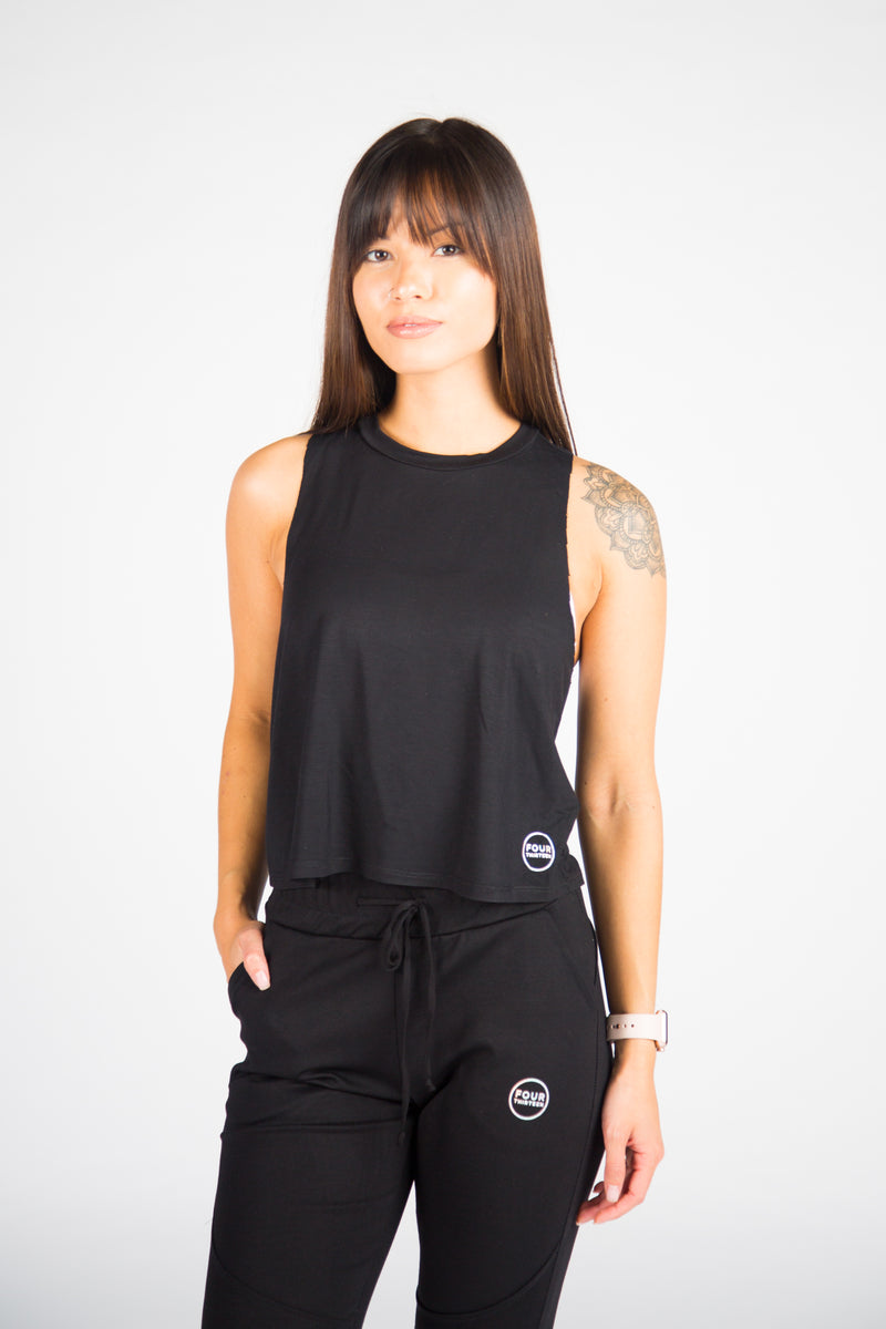 Breeze Crop - Black