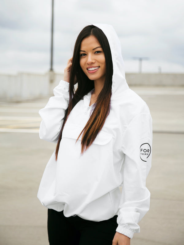 Envision Quarter Zip - White