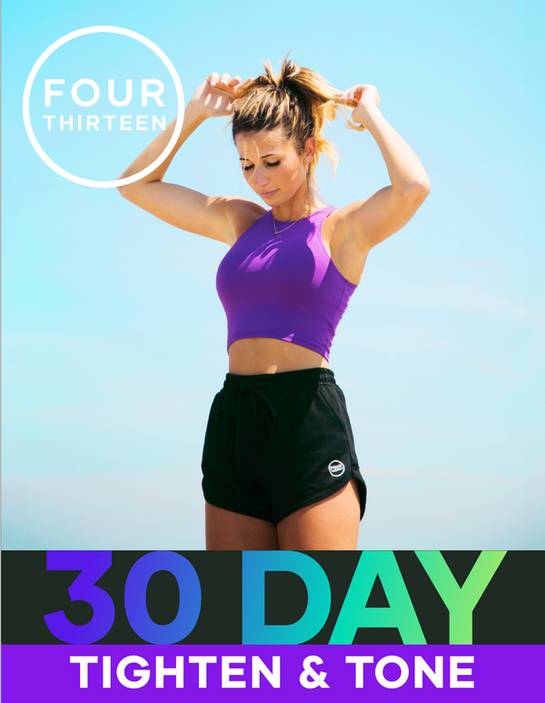 30 Day Tighten and Tone Program