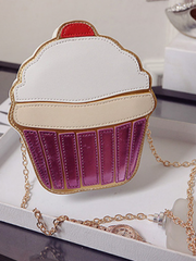 cup cake / ice cream chain bag